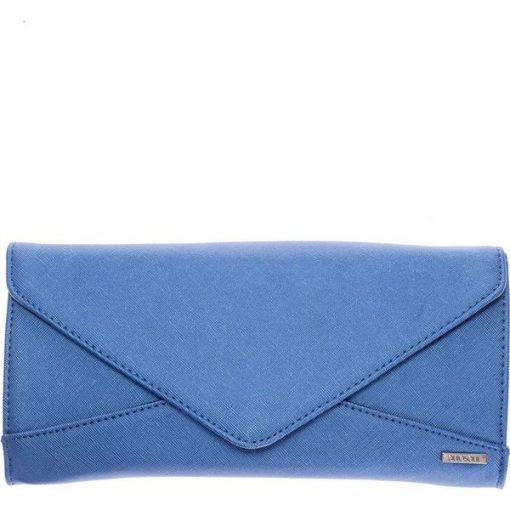 30243a01bef43 Niebieska kopertówka na ramię QUIOSQUE - Niebieskie kopertówki ...