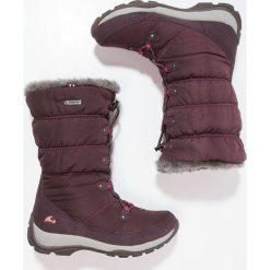 Viking JADE GTX Śniegowce aubergine/coral. Fioletowe buty zimowe damskie Viking, z kauczuku. W wyprzedaży za 359,10 zł.