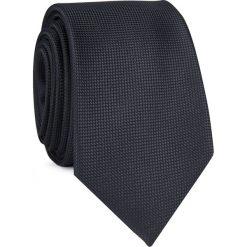 Krawat KWCR001254. Czarne krawaty męskie Giacomo Conti, z mikrofibry, eleganckie. Za 69,00 zł.