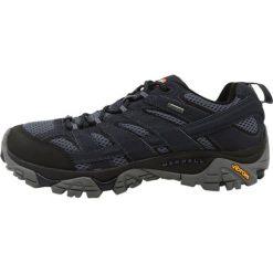 Merrell MOAB 2 GTX Obuwie hikingowe navy. Niebieskie buty sportowe męskie Merrell, z materiału, outdoorowe. W wyprzedaży za 439,20 zł.