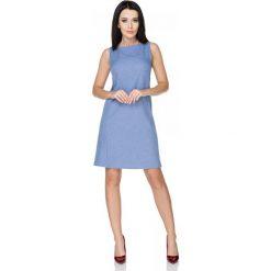 Niebieska Sukienka Klasyczna bez Rękawów. Czarne sukienki balowe marki Mohito, l, z dekoltem na plecach. Za 149,90 zł.