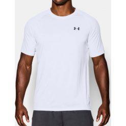 Under Armour Koszulka męska Tech Short Sleeve T-Shirt White r. L (1228539100). Białe koszulki sportowe męskie Under Armour, l. Za 69,00 zł.