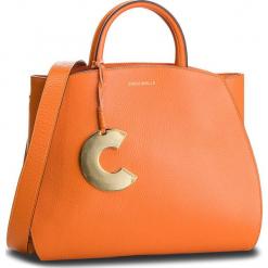 Torebka COCCINELLE - DB5 Concrete E1 DB5 18 01 01 Flash Orange R12. Brązowe torebki klasyczne damskie marki Coccinelle, ze skóry, zdobione. Za 1699,90 zł.