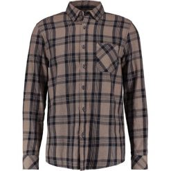Koszule męskie na spinki: Topman CHIP   Koszula stone