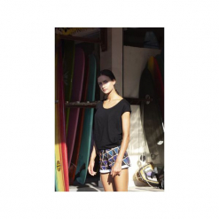 Bluzka bawełniana. Czarne bluzki asymetryczne Manifesto art clothes, l, z bawełny. Za 129,00 zł.