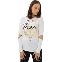 Bluzki damskie: Bluzka w kolorze białym