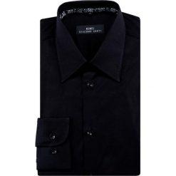 Koszula MARCO 16-06-02-K. Czarne koszule męskie na spinki marki Cropp, l. Za 229,00 zł.