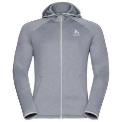 Bluzy sportowe damskie: Odlo Bluza Odlo Hoody midlayer full zip PULSE            – 349462 – 349462/15700/L