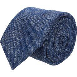 Krawaty męskie: krawat cotton niebieski classic 204