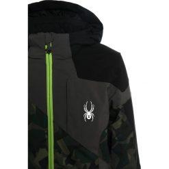 Spyder CHAMBERS Kurtka hardshell mini guard camo/black/polar. Brązowe kurtki chłopięce sportowe Spyder, z hardshellu, outdoorowe. W wyprzedaży za 743,20 zł.