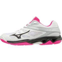 Mizuno Buty Halowe Damskie Thunder Blade White Black Pink Glo 40.0. Szare buty do fitnessu damskie marki KALENJI, z gumy. Za 299,00 zł.