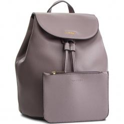 Plecak PUCCINI - BT28566  4. Szare plecaki damskie Puccini, ze skóry ekologicznej. W wyprzedaży za 195,00 zł.