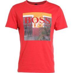 BOSS Orange TUX Tshirt z nadrukiem bright red. Czerwone koszulki polo BOSS Orange, m, z nadrukiem, z bawełny. Za 249,00 zł.