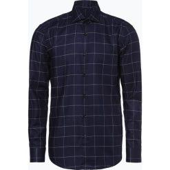 HUGO - Koszula męska – Kason, niebieski. Niebieskie koszule męskie w kratę marki HUGO, m, z dekoltem karo. Za 399,95 zł.
