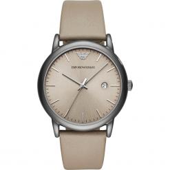Zegarek EMPORIO ARMANI - Luigi AR11116 Gray/Gunmetal. Brązowe zegarki męskie Emporio Armani. Za 950,00 zł.