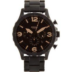 Zegarek FOSSIL - Nate JR1356 Black/Black. Czarne zegarki męskie Fossil, ze stali. Za 719,00 zł.