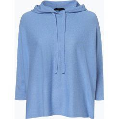 Someday - Sweter damski z dodatkiem kaszmiru – Tjelva Hoodie, niebieski. Szare swetry klasyczne damskie marki Reserved, m, z kapturem. Za 449,95 zł.