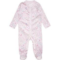Mothercare GIRLS SQUEAK SLEEPSUIT BABY 3 PACK  Piżama grey. Szare bielizna dziewczęca mothercare, z bawełny. Za 129,00 zł.