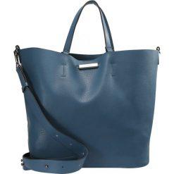 Torebki klasyczne damskie: Topshop SELINA SOFT Torba na zakupy blue