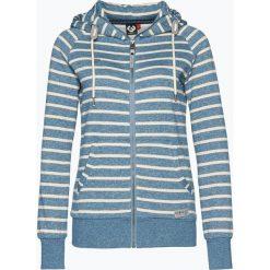 Bluzy damskie: Ragwear - Damska bluza rozpinana – Intact, niebieski