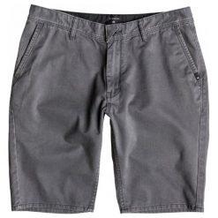Quiksilver Spodenki Everyday Chino Short M Dark Shadow. Szare spodenki sportowe męskie marki Quiksilver, eleganckie. W wyprzedaży za 139,00 zł.