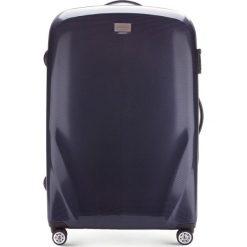 Walizka duża 56-3P-573-90. Niebieskie walizki marki Wittchen, z gumy, duże. Za 389,00 zł.