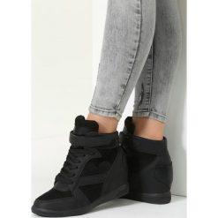 Czarne Sneakersy Fortunate. Czarne sneakersy damskie vices, z materiału. Za 119,99 zł.