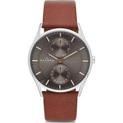 Biżuteria i zegarki: Zegarek SKAGEN - Hoist SKW6086 Light Brown/Silver/Steel