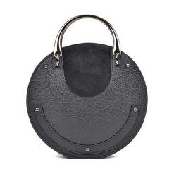 Torebka w kolorze czarnym - (S)21 x (W)21 x (G)7 cm. Czarne torebki klasyczne damskie Bestsellers bags, w paski, z materiału. W wyprzedaży za 249,95 zł.