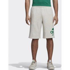 Spodenki i szorty męskie: Adidas Spodenki męskie Sport ID Athletics Logo Short szare r. S (CW3600)