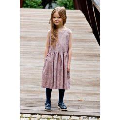 Sukienki dziewczęce z falbanami: COCO elegancka sukienka dla dziewczynki