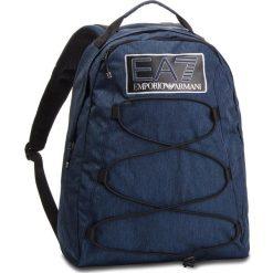 Plecak EA7 EMPORIO ARMANI - 275822 8A803 44935 Blue Navy Melange. Niebieskie plecaki męskie EA7 Emporio Armani, z materiału. Za 539,00 zł.