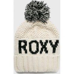 Roxy - Czapka. Szare czapki zimowe damskie Roxy, na zimę, z dzianiny. Za 149,90 zł.
