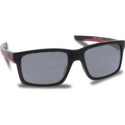 Okulary przeciwsłoneczne OAKLEY - Mainlink OO9264-12 Matte Black/Black Iridium. Czarne okulary przeciwsłoneczne męskie aviatory Oakley, z tworzywa sztucznego. W wyprzedaży za 509,00 zł.