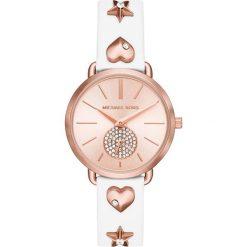 Zegarek MICHAEL KORS - Portia MK2728 White/Rose Gold. Białe zegarki damskie Michael Kors. W wyprzedaży za 739,00 zł.