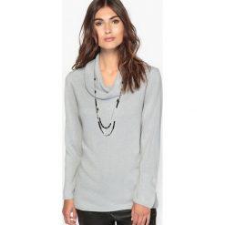 Kardigany damskie: Sweter z kominowym kołnierzem, przypominający w dotyku kaszmir