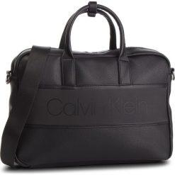 Torba na laptopa CALVIN KLEIN - Strike Slim Laptop Bag K50K504277 001. Czarne torby na laptopa Calvin Klein, ze skóry ekologicznej. Za 599,00 zł.