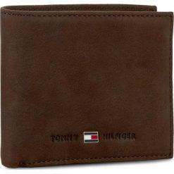 Duży Portfel Męski TOMMY HILFIGER - Johnson Mini Cc Wallet AM0AM00663 041. Brązowe portfele męskie marki TOMMY HILFIGER, ze skóry. Za 229,00 zł.