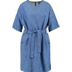 GStar DELINE SHIRT DRESS S/S Sukienka jeansowa lt wt tras denim. Niebieskie sukienki marki G-Star, s, z bawełny. W wyprzedaży za 375,20 zł.