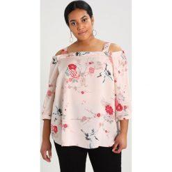 Bluzki asymetryczne: Dorothy Perkins Curve HERON PRINT BARDOT Bluzka blush