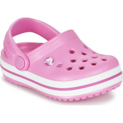 Buty dziecięce Crocband Clog pink r. 30-31. Czerwone klapki dziewczęce Crocs. Za 108,34 zł.