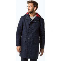 Finshley & Harding London - Płaszcz męski – Saied, niebieski. Niebieskie płaszcze na zamek męskie Finshley & Harding London, m. Za 349,95 zł.