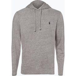 Polo Ralph Lauren - Męska koszulka z długim rękawem, szary. Szare koszulki polo marki Polo Ralph Lauren, m, z bawełny, z długim rękawem. Za 249,95 zł.