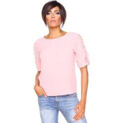 """T-shirty damskie: Koszulka """"Aline"""" w kolorze jasnoróżowym"""