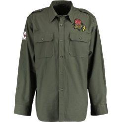 Koszule męskie na spinki: 12 Midnight MILITARY Koszula khaki