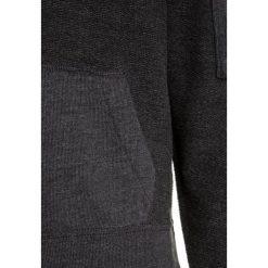 Abercrombie & Fitch Bluza z kapturem dark grey. Niebieskie bluzy dziewczęce rozpinane marki Abercrombie & Fitch. W wyprzedaży za 125,30 zł.