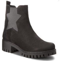 Botki KARINO - 2388/126-F Czarny. Fioletowe buty zimowe damskie marki Karino, ze skóry. W wyprzedaży za 189,00 zł.