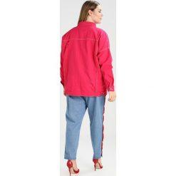 Kurtki i płaszcze damskie: Daisy Street Plus LONG OVERSIZED Kurtka jeansowa pink