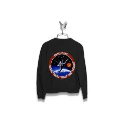 Bluza Space Shuttle Mission STS-7 Challenger Męska. Czarne bluzy męskie Failfake, m. Za 160,00 zł.