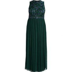 Długie sukienki: Lace & Beads Curvy KAARA MAXI Długa sukienka bottle green